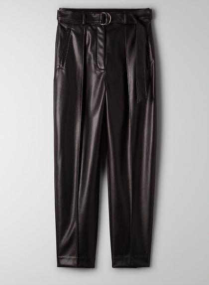 Aritzia Vegan Leather Pants