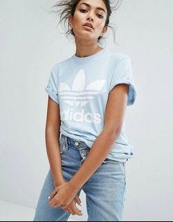 Baby blue shirt adidas originaln