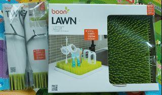 BNIB Boon Lawn Countertop Drying Rack & Boon Twig Accessory