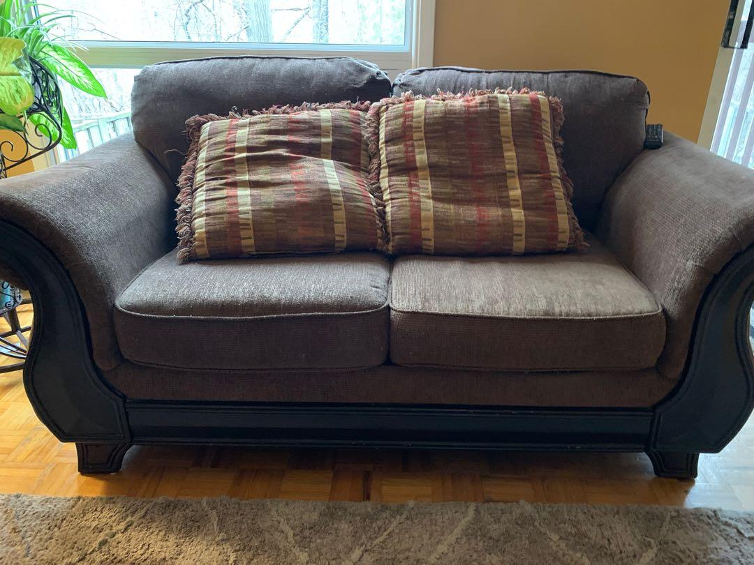 Cloth/Cotton Couch loveseat