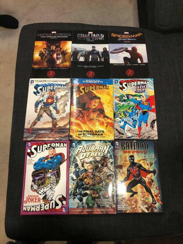 DC and Marvel Graphic Novels