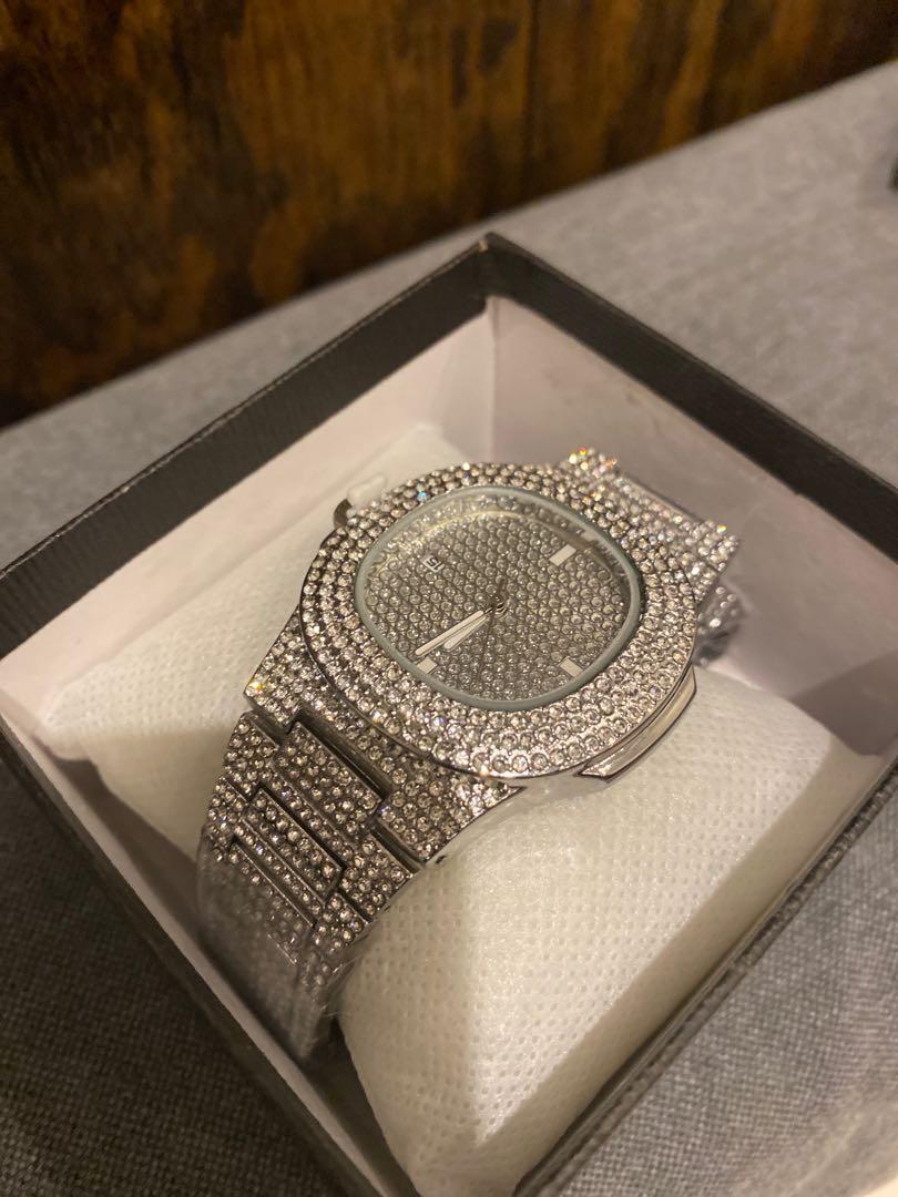 Diamond Iced Watch