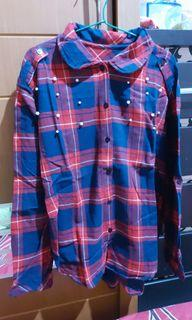 Flanell pearl top