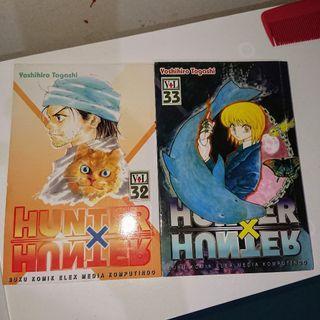 Komik Hunter x hunter vol 32 33