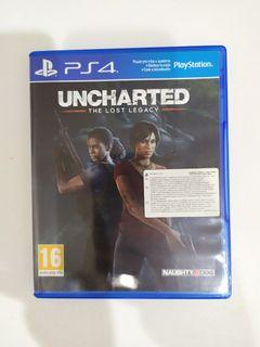 Game Kaset PS4 Uncharted Lost Legacy