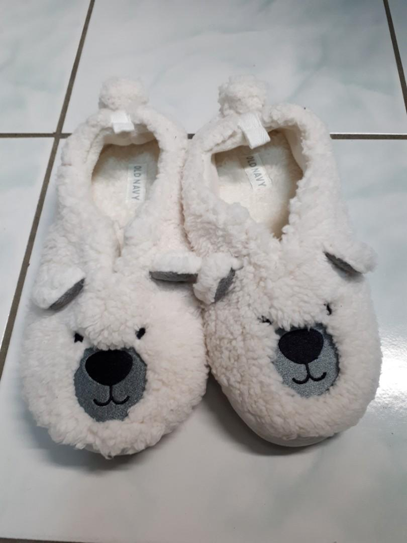 Old Navy | Soft Polar Bear Slippers