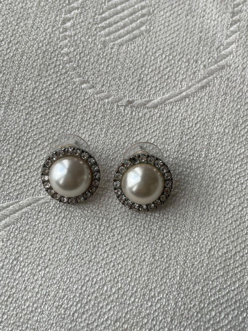 Pearl earrings from j crew