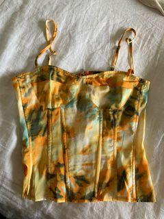 Pretty little thing corset top, never worn