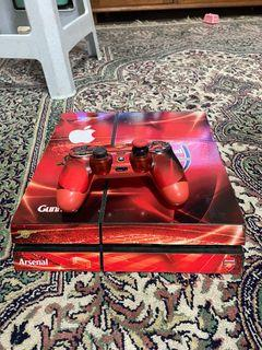 PS 4 Fat, 1TB for sale. With 3 games. 1 controller.