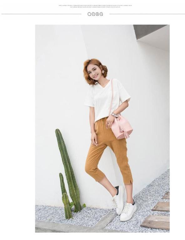 Tas serut Bucket bag Tas selempang wanita fashion korean style