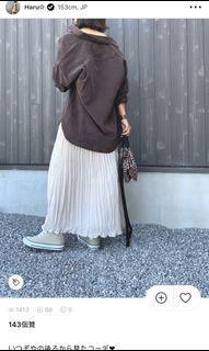 Uniqlo男版法蘭絨oversize襯衫