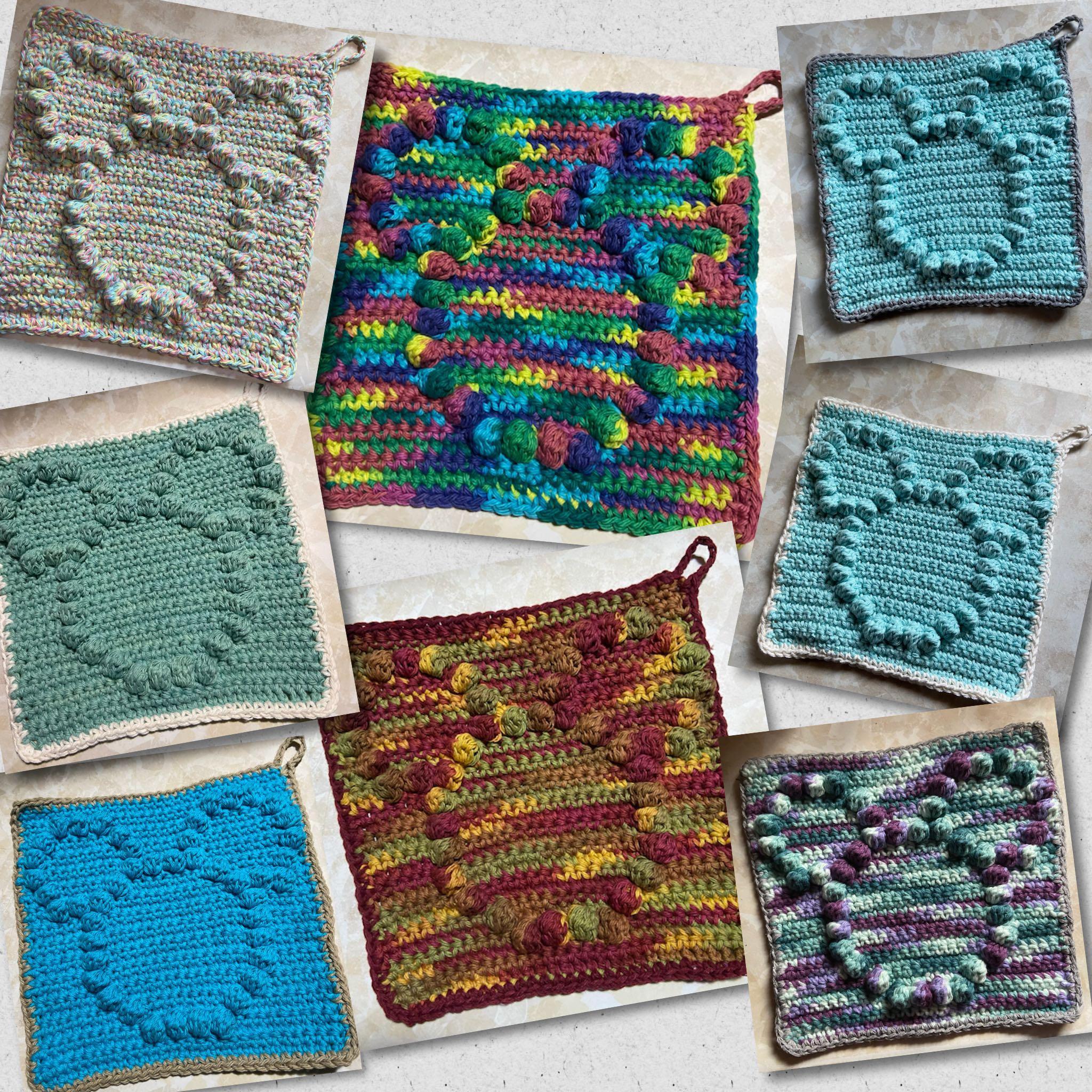 100% cotton Crochet dish/ wash cloth Mickey inspired