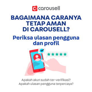 Selamat bergabung di Carousell!