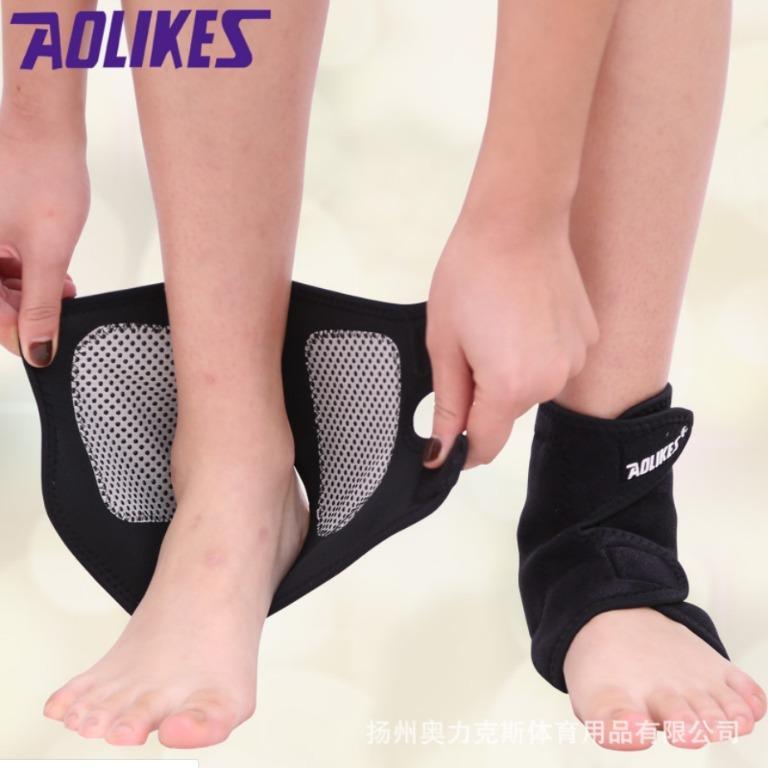 【暉長豪商行】保暖透氣護踝 2入/2pc Ankle Supports 運動護踝 透氣加壓雙重防護 彈力護踝 籃球足球 綁帶護踝 健身護踝 防扭傷 護腳踝 護踝