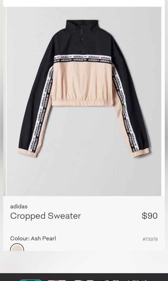 BNWT Adidas Cropped Sweater