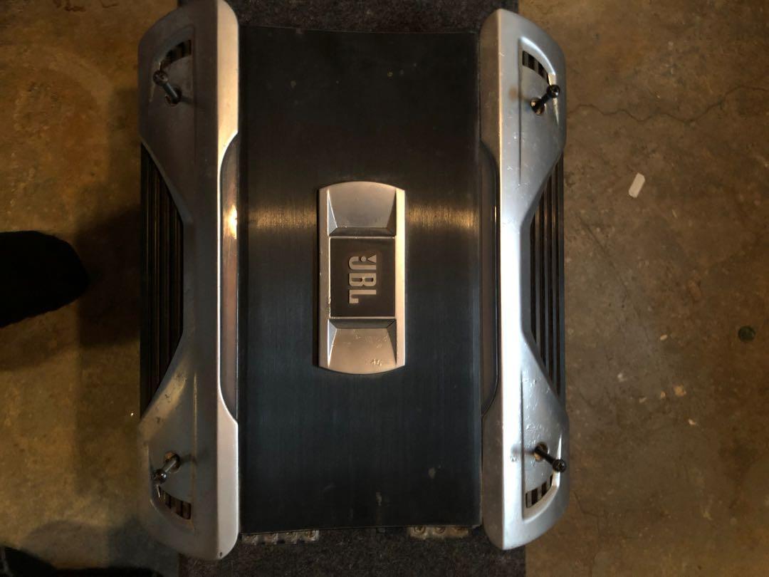 Car 12 inch kicker comp  jbl amp