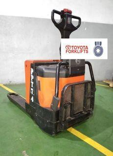 CERTIFIED USED (SILVER) Toyota BT Levio 2000kgs 2.0 tons LPE200 Powered Pallet