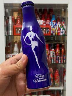 Coca-Cola Light Ellen Von Unwerth Aluminium Bottle Germany 2009.