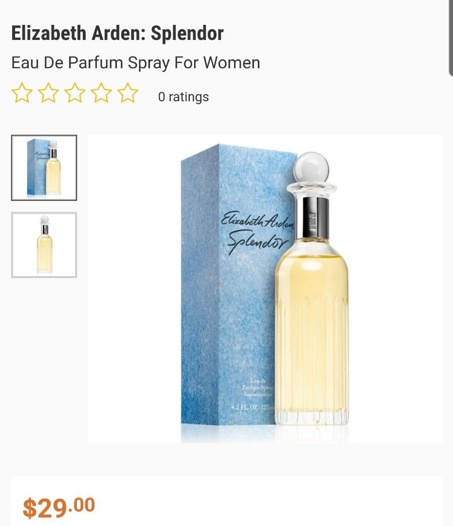 Elizabeth Arden: Splendor perfume