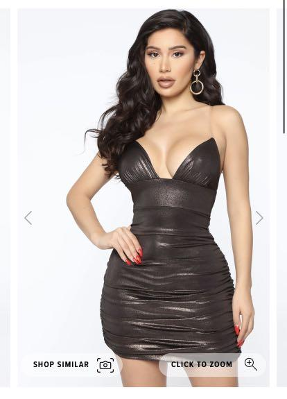 Fashion nova shiny dress