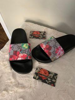Gucci slides non authentic brand new  sizes is 37 but fits small
