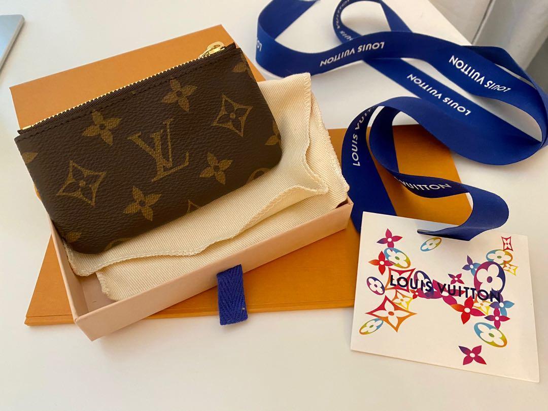 Louis Vuitton Cles Key Pouch - Monogram