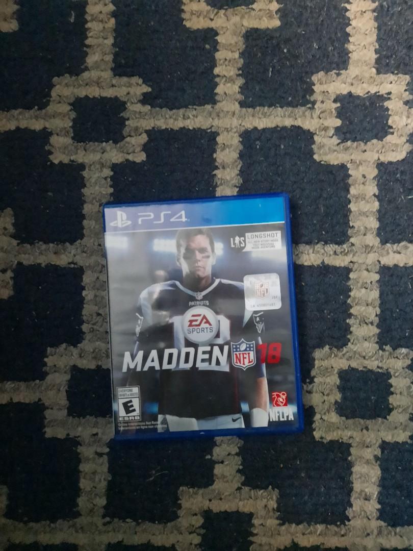 Madden NFL 18 Sony ps4