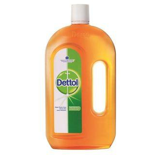 New 1 Litre Dettol Antiseptic Germicide Liquid
