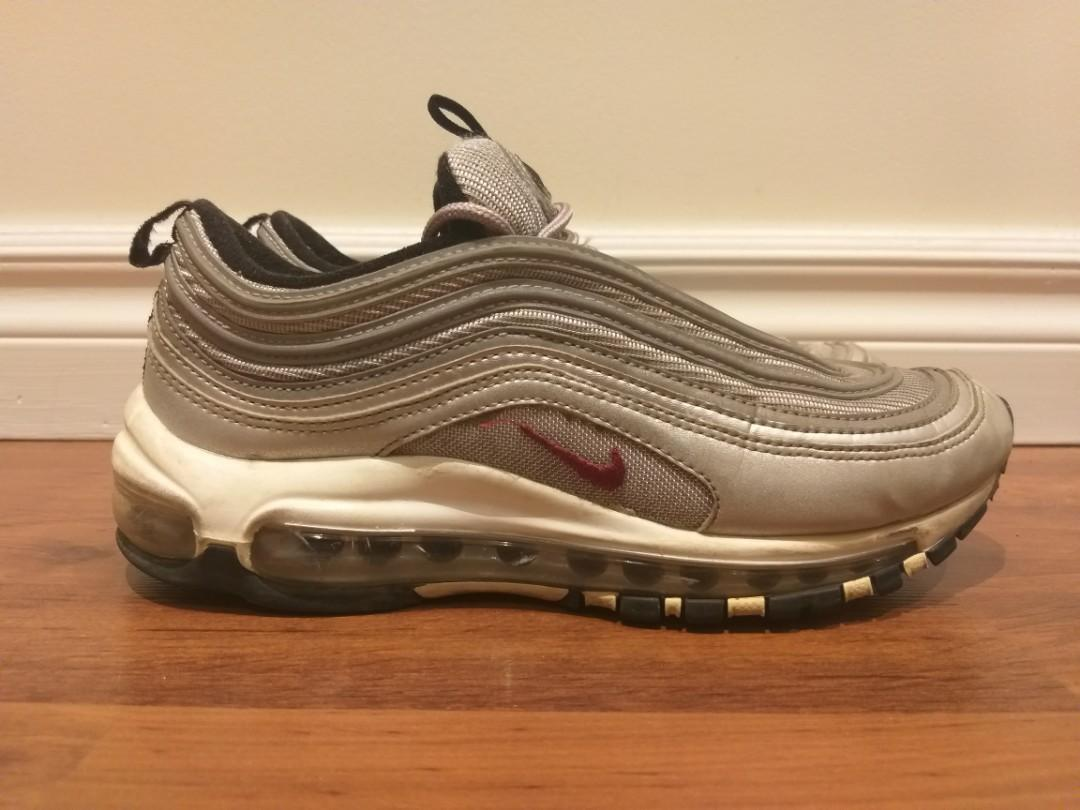 Nike air max 97 silver bullet size 7.5