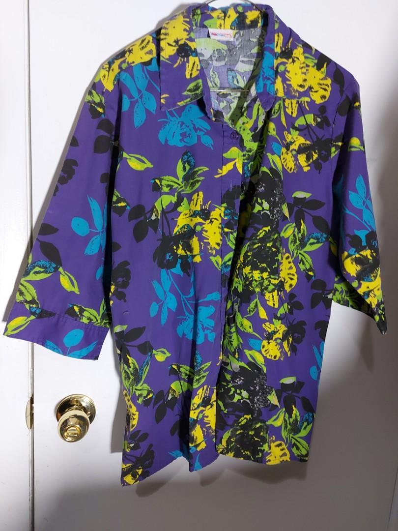 Vintage Hawaiian shirt- Large