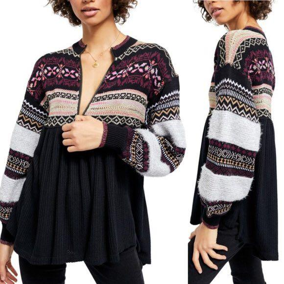 BNWT free people sweater size small