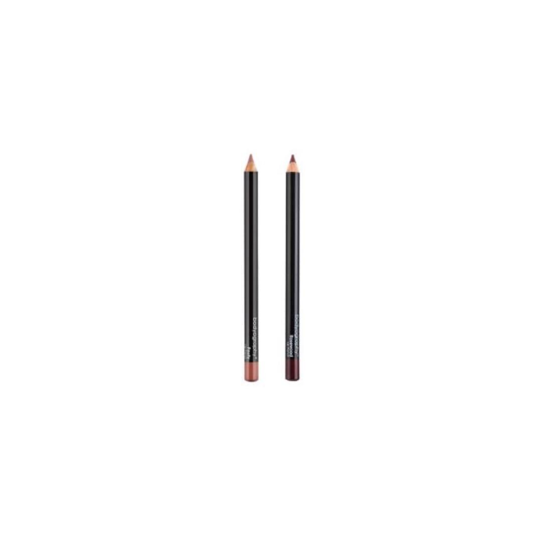 Bodyography Lip Pencil 2 Pack (Pouty & Rosewood)