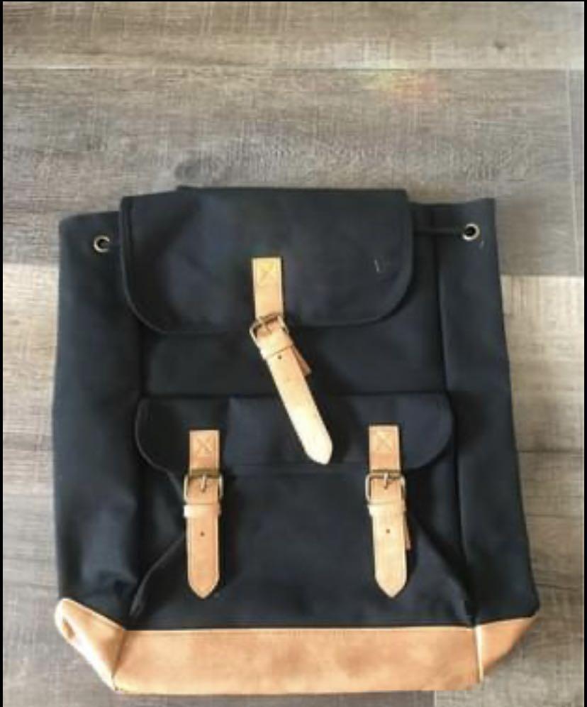 Brand New Designer Shoe Warehouse Black Unisex Backpack