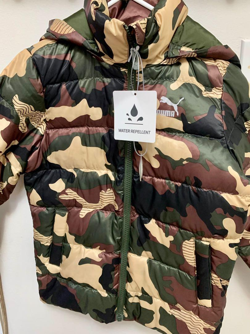 Brand new toddler boys Puma water repellent/down filled winter jacket sz 4-5y