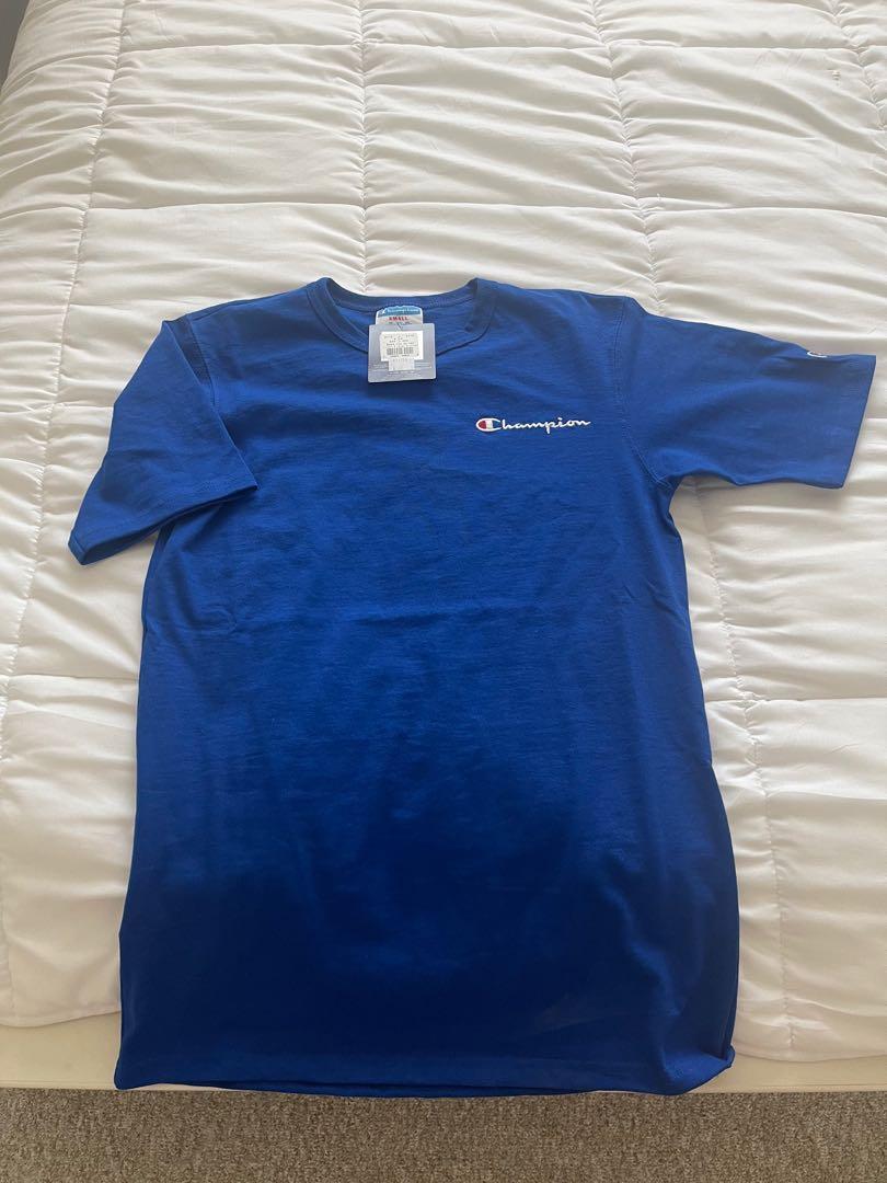 Champion Tshirt Basic Blue