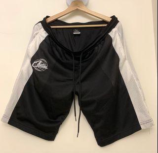 CLOT CLOTTEE 黑白色 刺繡 球褲 短褲