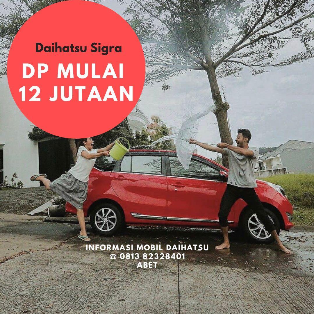 DP MURAH Daihatsu Sigra mulai 12 jutaan. Daihatsu Fatmawati