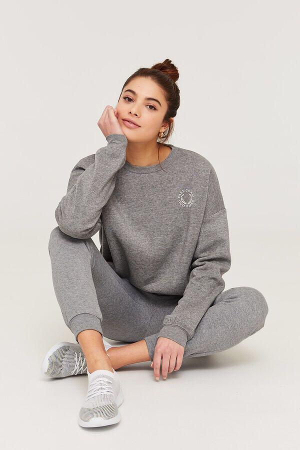 East Coast Grey Sweatshirt (Size XS)