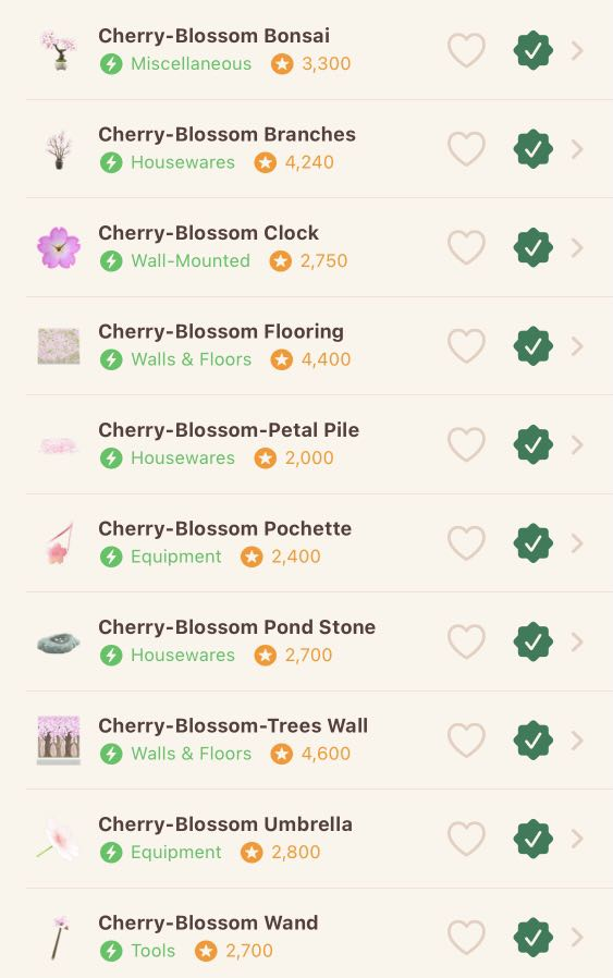 Entire Cherry Blossom Diy Set 150 Cherry Blossom Petals Acnh Toys Games Video Gaming In Game Products On Carousell