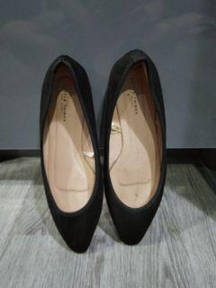 Flat shoe.i sole 23,5cm.msh bagus