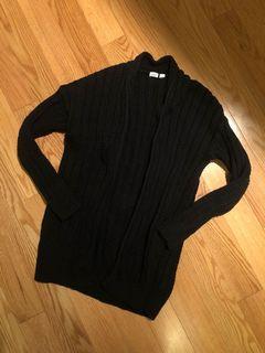 Gap Black Knit Cardigan (Size S)
