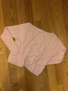 Garage Light Pink Sweater (Size XS)