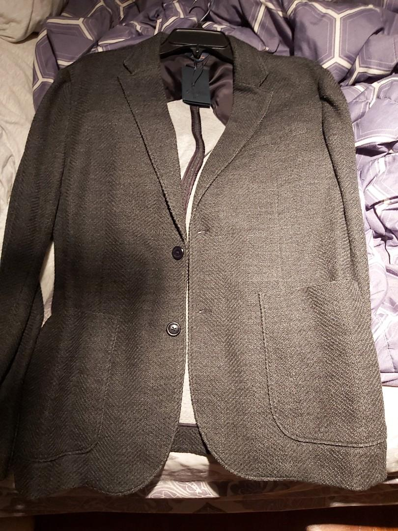 Good man bi-color soft blazer Large