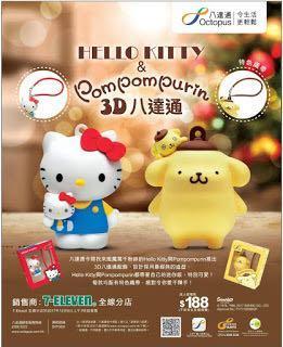 Hello Kitty 成人八達通配飾