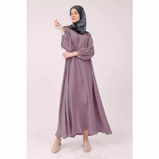 Hijabchic Lily Purple (Dress Gamis Soft Lilac)