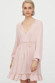 H&M Blush Pink Dress (Size XXS)