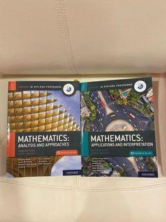 IB AA and AI Math TEXTBOOK OXFORD