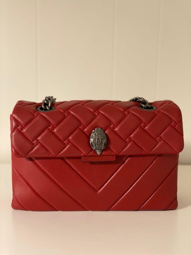 Kurt geiger Kensington quilted leather shoulder bag