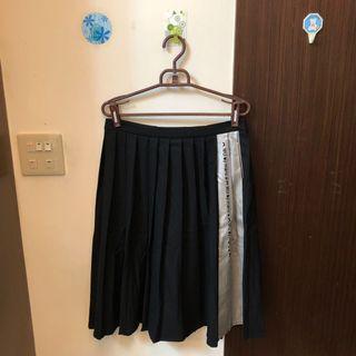 maru.a  原價2680 撞色中長百褶裙