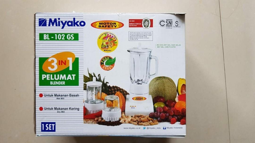 Miyako- 3in1 Blender NEW